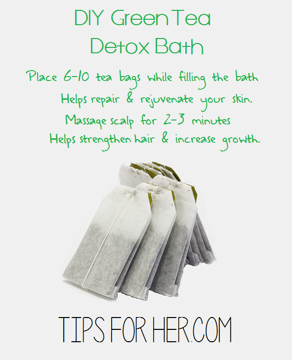 Green Tea Detox Bath