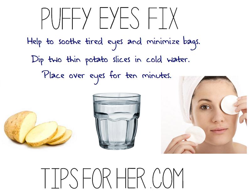 puffy eyes fix