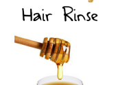 black tea hair rinse