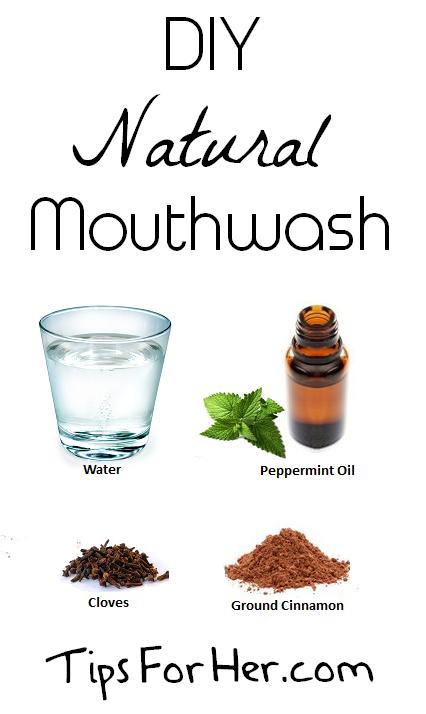 diy natural mouthwash