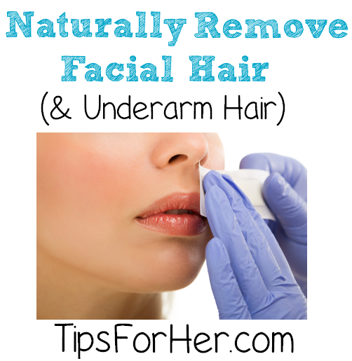 Remove Facial & Underarm Hair