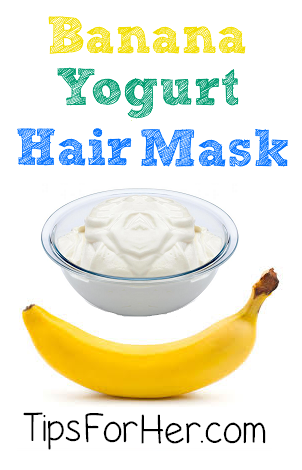 Banana Yogurt Hair Mask
