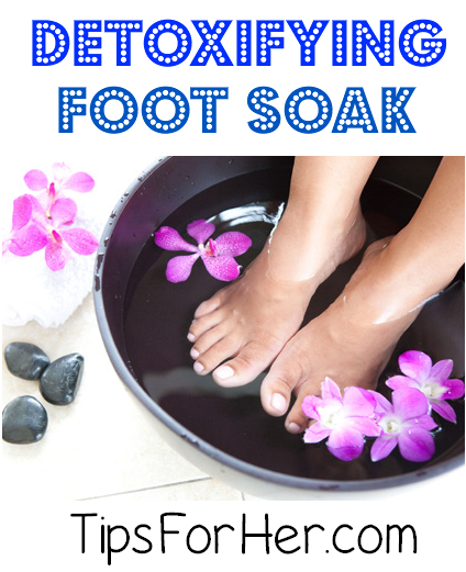 Detoxifying Foot Soak