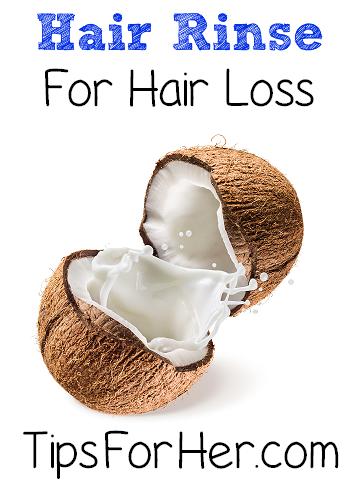 Hair Rinse for Hair Loss