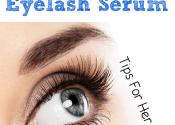 DIY Eyelash Serum