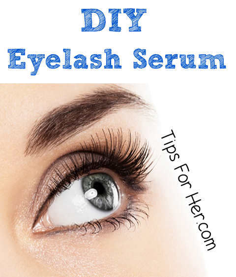DIY Eyelash Serum