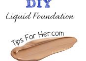 DIY Liquid Foundation