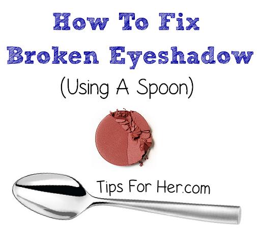 Fixing Broken Eyeshadow