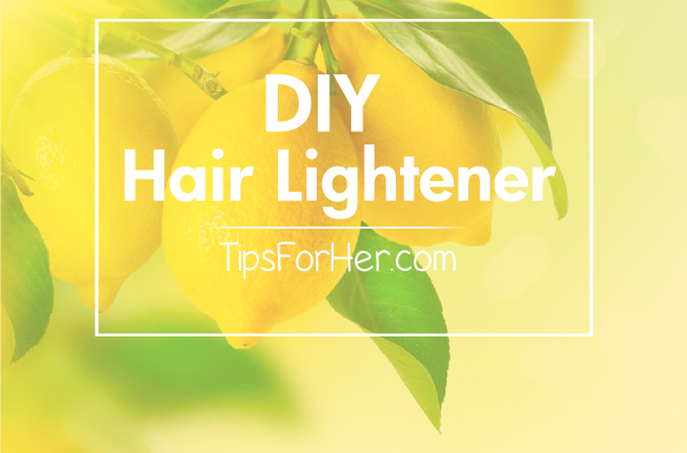 DIY Hair Lightener