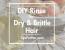 DIY Hair Rinse for Dry & Brittle Hair