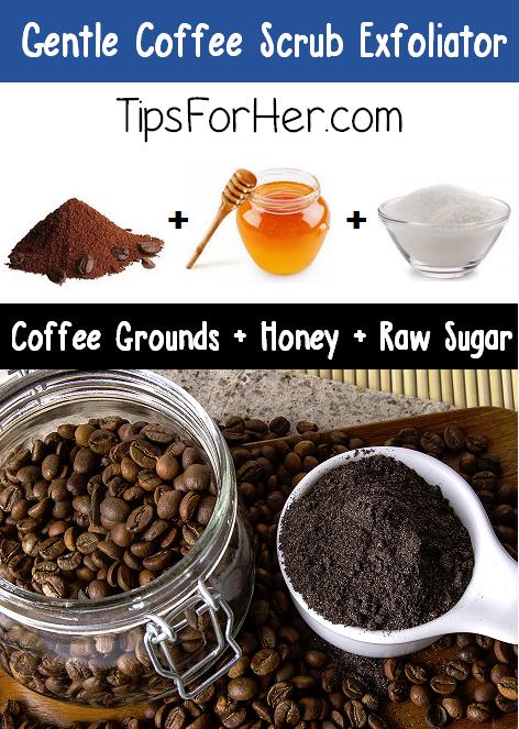Gentle Coffee Scrub Exfoliator