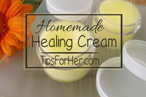 Homemade Healing Cream
