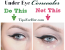 Cover Up Dark Circles – Under Eye Concealer