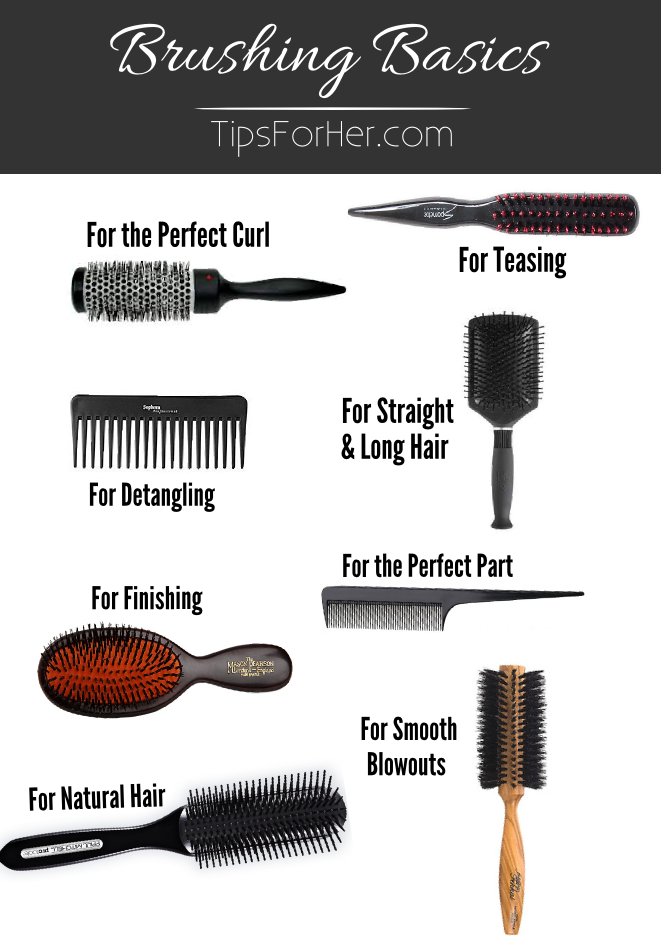 Brushing Basics - A Guide for Hair Brushes