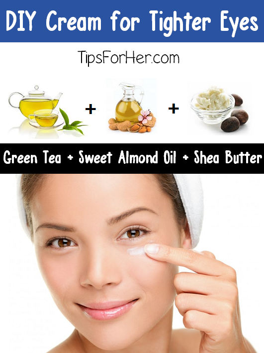 DIY Cream for Tighter Eyes