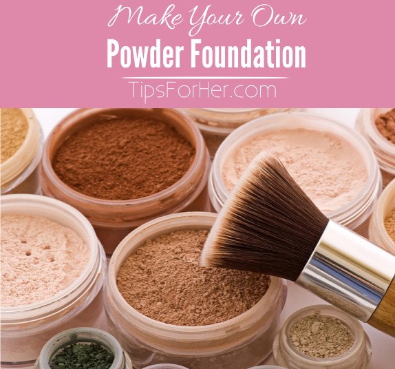 Make Your Own Powder Foundation