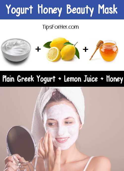 Yogurt Honey Beauty Mask