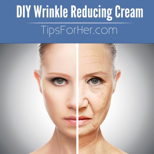 DIY Wrinkle Reducing Cream