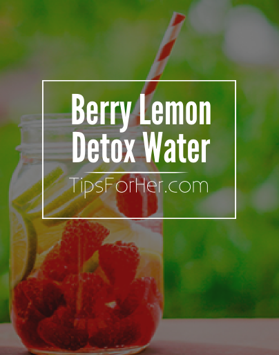 Berry Lemon Detox Water