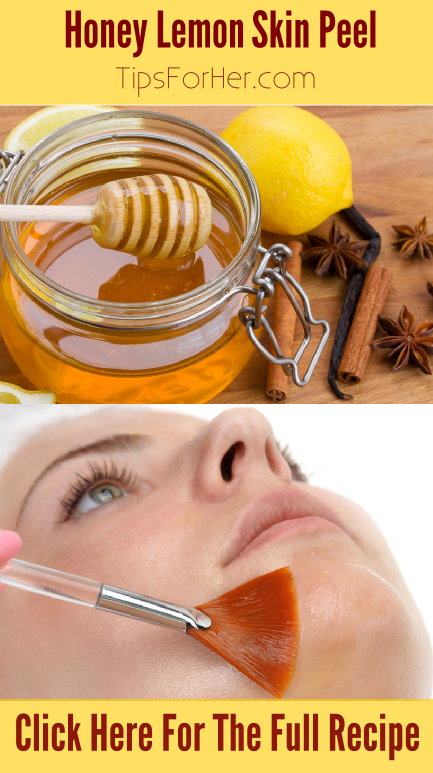 Honey Lemon Skin Peel