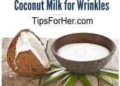 Coconut Milk for Wrinkles