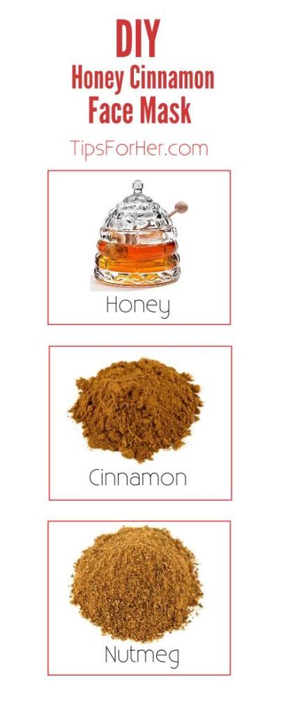 DIY Honey Cinnamon Face Mask