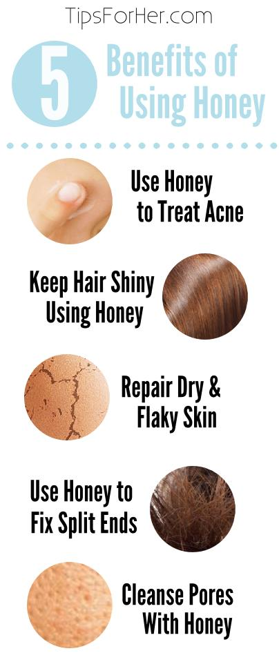 5 Benfeits of Using Honey