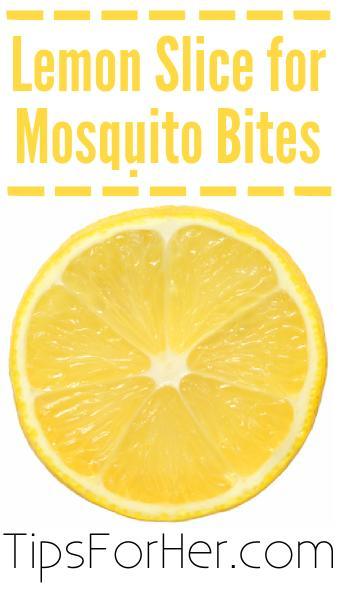 Lemon Slcie for Mosquito Bites