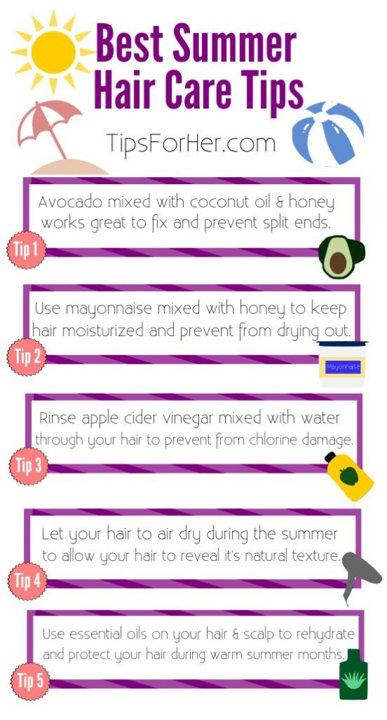 Best Summer Haircare Tips