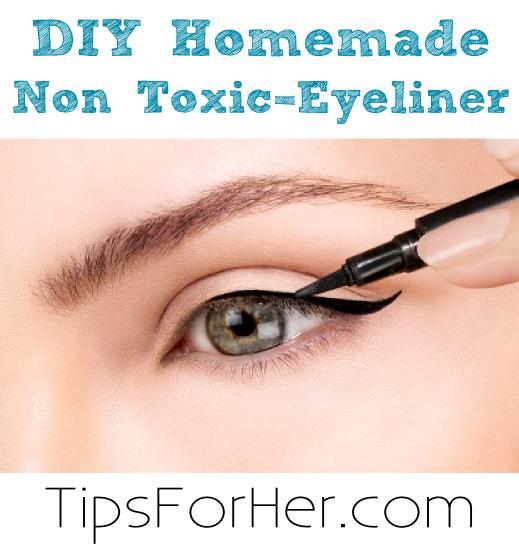 DIY Homemade Non-Toxic Eyeliner