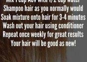 Repair your fried ends!