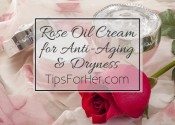 Rose Oil Cream for Anti-Aging & Dryness