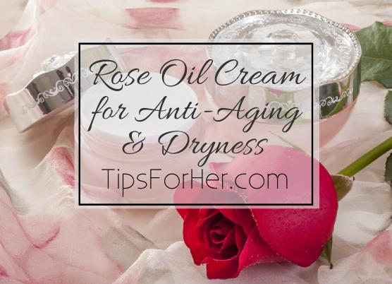 Rose Oil Cream for Anti-Aging & Dryness