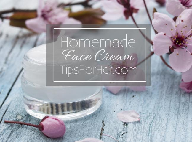 Homemade Face Cream Moisturizer