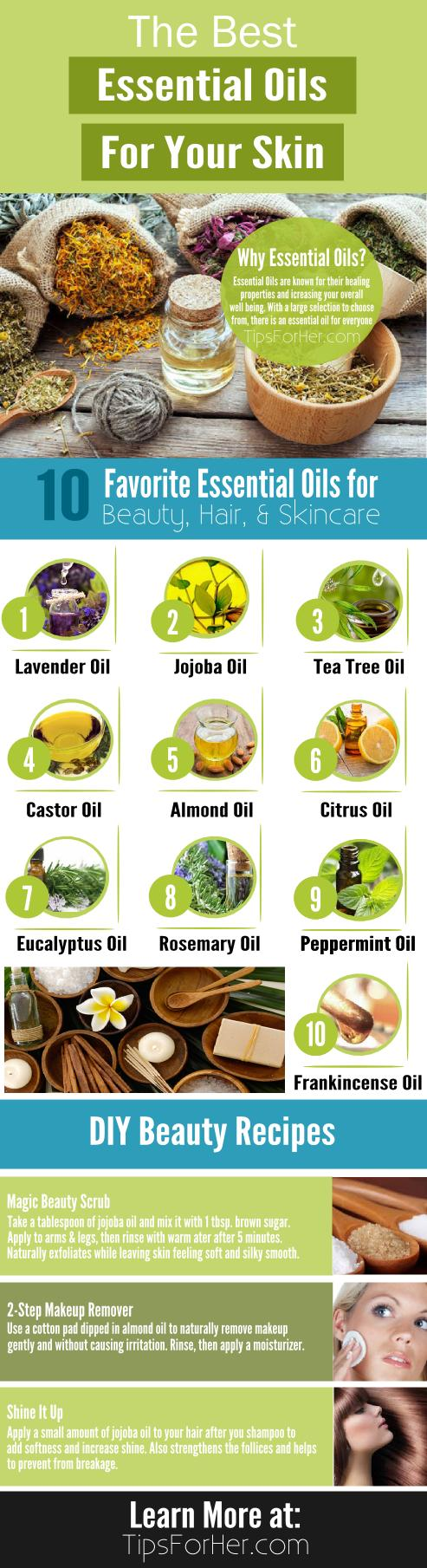 The Best Essential Oils For Your Skin!