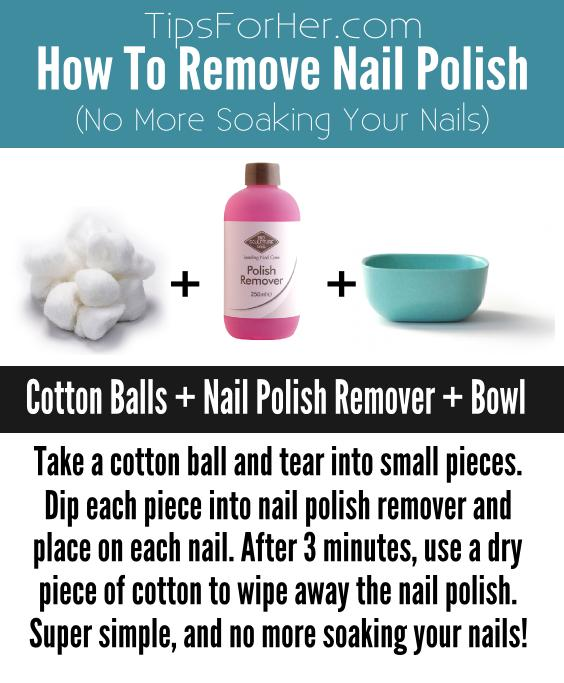 How To Remove Nail Polish Without Soaking Your Nails