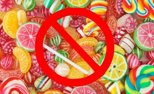 no candy sugar