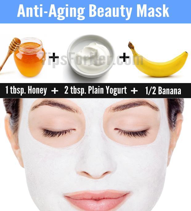 Anti-Aging Beauty Mask