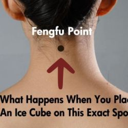 What Happens When You Place An Ice Cube on This Spot?