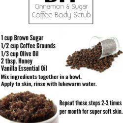 DIY Cinnamon & Coffee Body Scrub