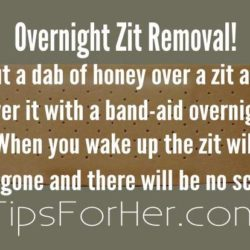 Overnight Zit Removal