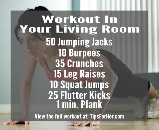 Workout in your living room for Living room exercises