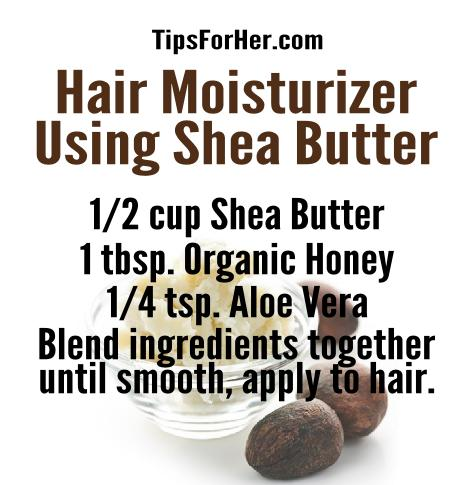 hair-moisturizer-using-shea-butter