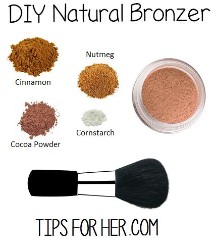 diy natural bronzer