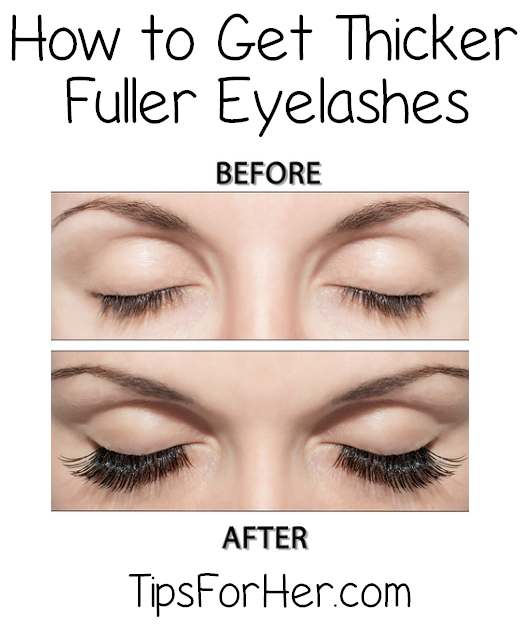 Tip for Thicker Eyelashes