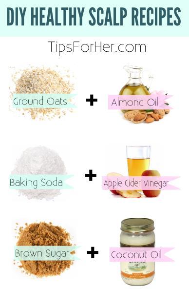 DIY Healthy Scalp Recipes